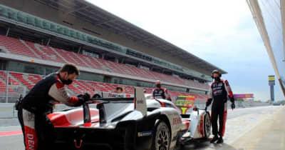 平川亮の「ウエットでの走りは印象的」トヨタ、バルセロナでGR010ハイブリッドのテストを完了/WEC