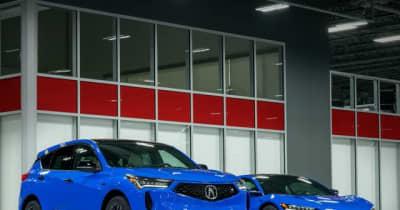 ホンダ の海外向け高級車「アキュラ RDX」にハンドメイドの特別モデル