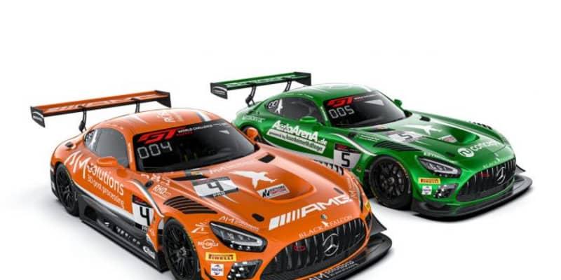 GTWCヨーロッパ:ブラックファルコンが2020年体制発表。元ベントレーのアブリル加入