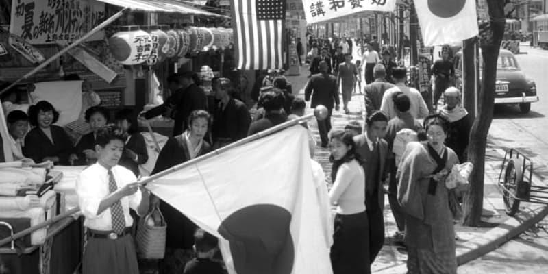 <あのころ>日本独立の日