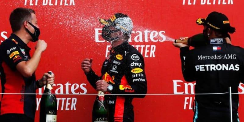 【速報】レッドブル・ホンダのフェルスタッペンが今シーズン初優勝/F1第5戦70周年記念GP決勝