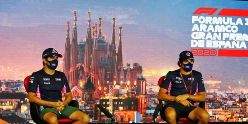 F1スペインGP木曜会見(2):新型コロナから復帰のペレス「誰もが感染するリスクがある」一部報道に苦言