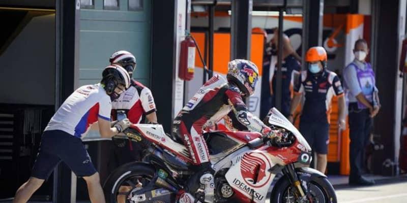 中上「タイヤに厳しいレースになると思うので、チャンスはあります」/MotoGP第7戦サンマリノGP予選