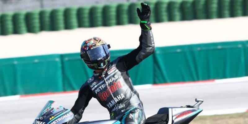 MotoGP第7戦:ペトロナス・ヤマハのモルビデリが初優勝。ランキングトップのクアルタラロは2回の転倒を喫する
