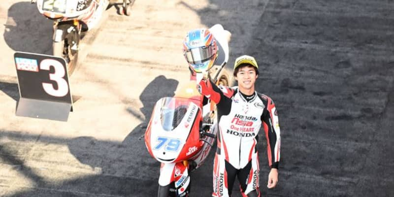 Moto3:今季5度目の表彰台を獲得した小椋藍「激しいバトルで得た結果には満足」/MotoGP第7戦サンマリノGP
