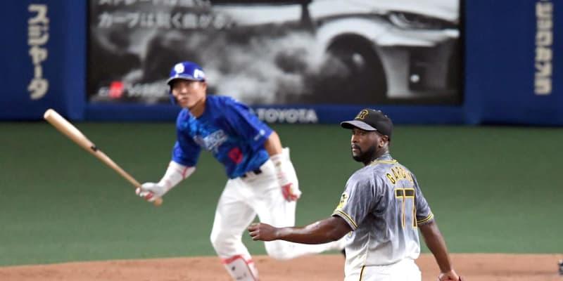 阪神・ガルシア先制の援護も、すぐさま失点 投手へ四球…勝ち越し許す