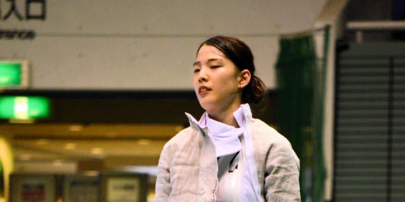 フェンシング江村美咲、全日本3連覇ならず「点が取りたい気持ちが先行した」