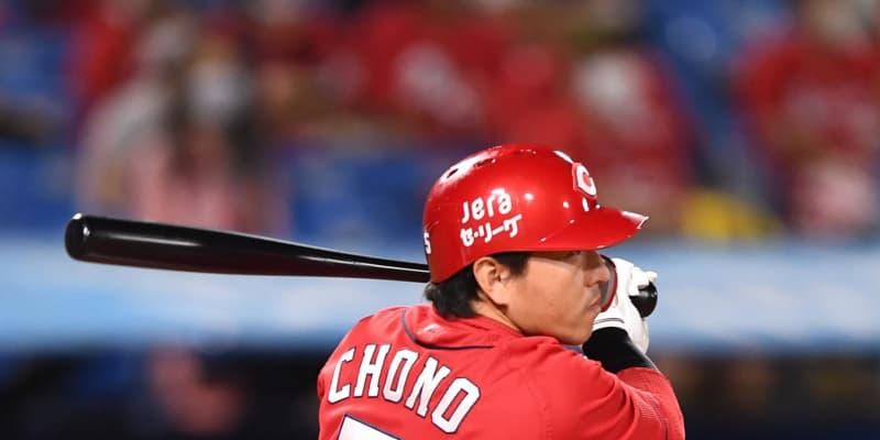広島・長野が先制二塁打「キクがよく走ってくれた」