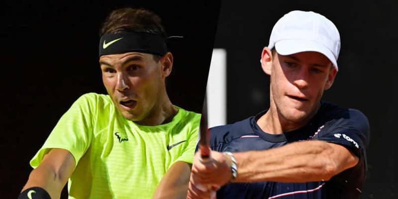 V10目指すナダル、シュワルツマンとの準々決勝。「ATP1000 ローマ」6日目