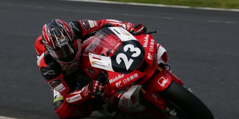 高橋裕紀が2戦連続ポール獲得。ホンダが最前列独占/全日本ロード第3戦オートポリス ST1000予選