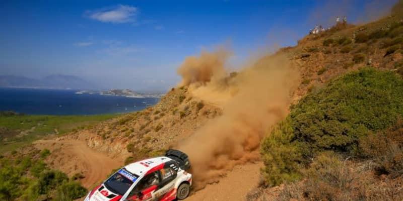 【順位結果】2020年WRC第5戦トルコ SS8後
