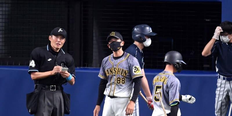 阪神の代打攻勢実らず 無死一、二塁の好機で無得点