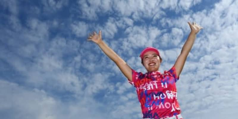 プラチナ世代・古江彩佳がプロ初優勝! 「体が動かなく…」アマとは違う重圧に打ち勝つ