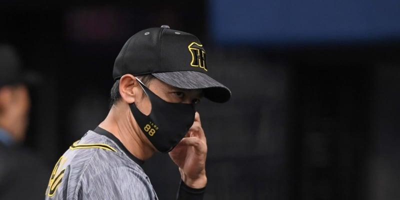 阪神・矢野監督 中田2回交代の決断に「春先の試合とは意味合いが違う」