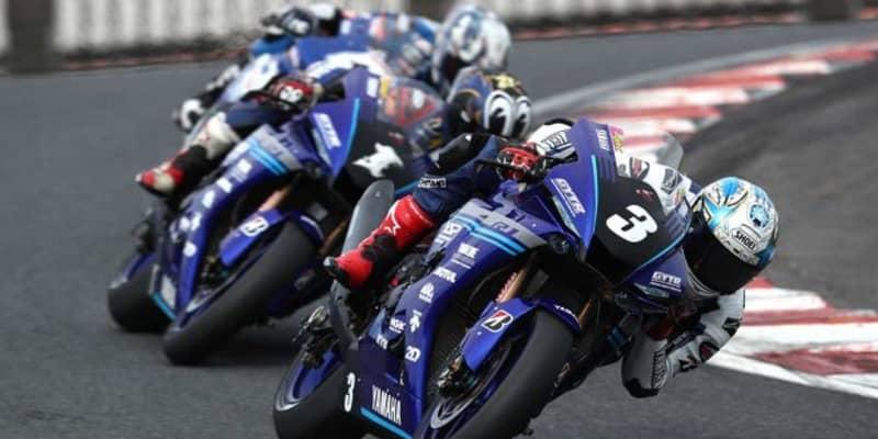 チームメイト同士のバトルの末、中須賀が転倒。優勝は野左根の手に/全日本ロード第3戦オートポリス JSB1000レース2
