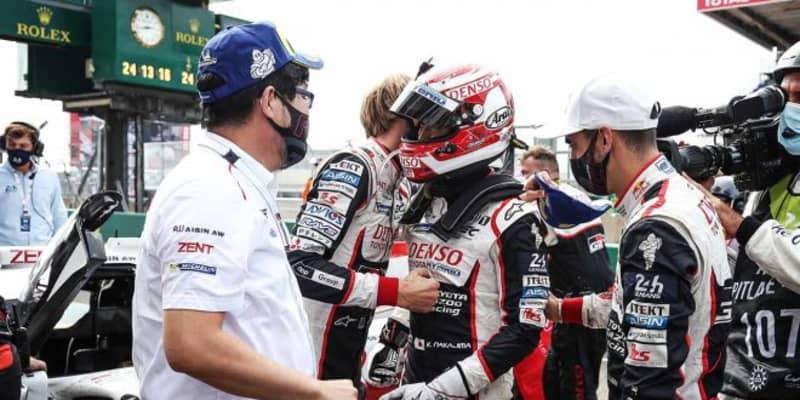 ル・マン3連覇の中嶋一貴「7号車を参考にさせてもらった部分もある。チーム全体に感謝」