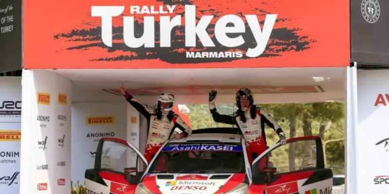 【順位結果】2020年WRC第5戦トルコ SS12後