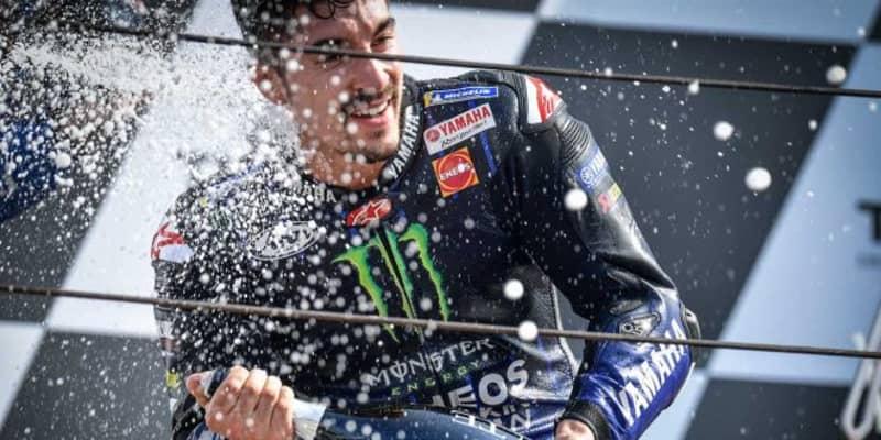 2020年初優勝のビニャーレス「金曜日の苦戦が改善のきっかけになった」/MotoGP第8戦決勝トップ3コメント