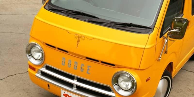 """これがハイエース!? 1964年製のアメ車""""ダッジバンA100""""オマージュのボディキット「パパライダー」"""