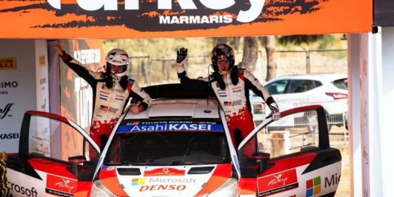 逆転勝利のエバンス「とにかく道の真ん中を。それが功を奏した」/WRC第5戦トルコ デイ3後コメント