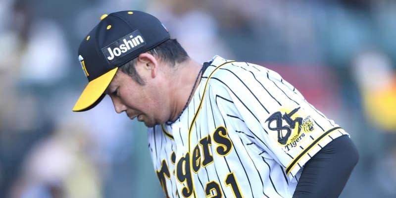 阪神・岩田は5回3失点で降板 悔やまれる五回の2失点