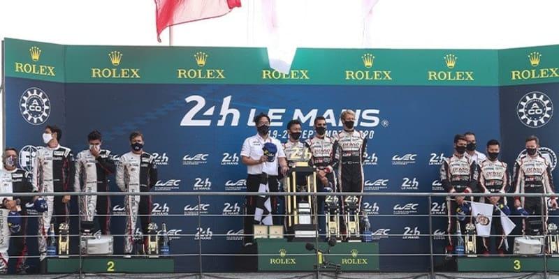 トヨタ 中嶋一貴がル・マン24時間レースで3連覇達成!小林可夢偉の7号車は3位表彰台を獲得