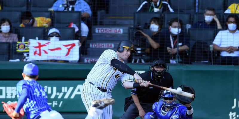 阪神・ボーア、同点14号が100万円弾「しっかりコンタクトできて良かった」