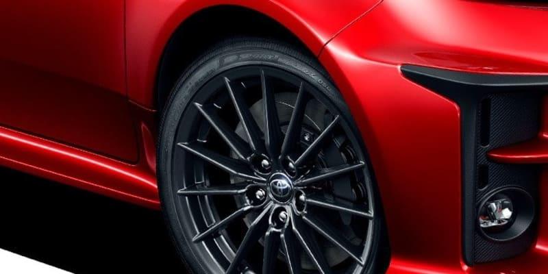 トヨタ GRヤリスの足元を支える純正タイヤにダンロップ SP SPORT MAXX 050を採用