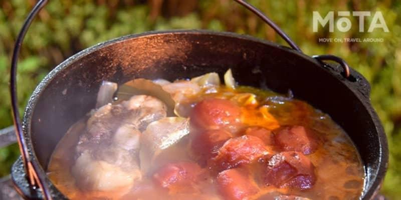 ダッチオーブンで調理も出来ちゃう! BBQと焚き火を両方楽しむポイントとは【アウトドア焚き火台】