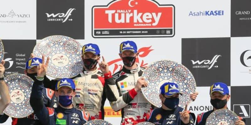 【ポイントランキング】2020WRC第5戦トルコ終了時点