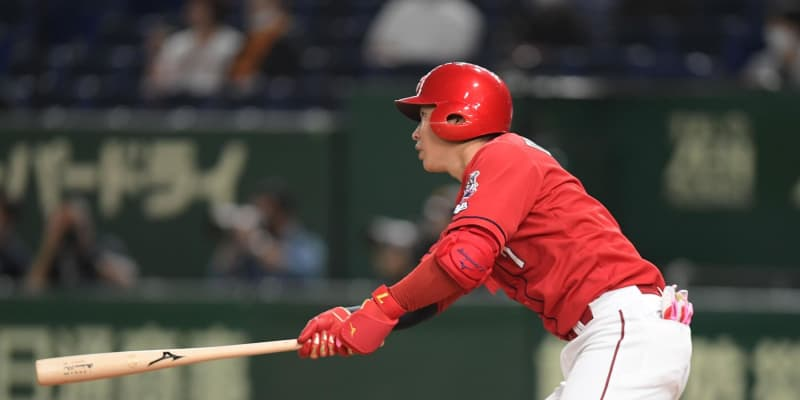 広島劣勢も堂林が意地の適時二塁打「JPがよく走ってくれた」