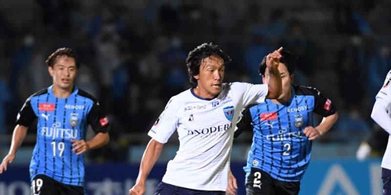 横浜FC・MF中村俊輔がCKからアシスト DF小林が追撃弾