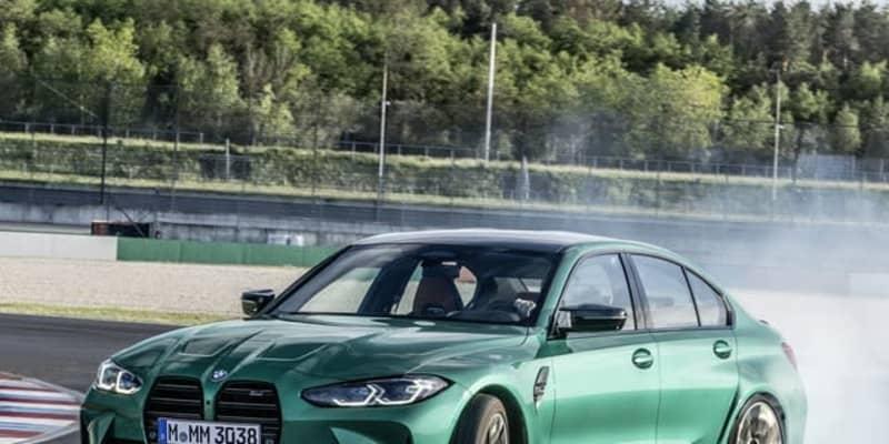 BMW M3 セダン 新型、縦長グリル採用… 3シリーズ と決別したデザイン