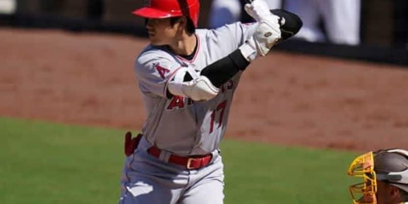 【MLB】大谷翔平が左投手から今季初アーチ 名物解説称賛「忍耐強く…うまく打ちました」