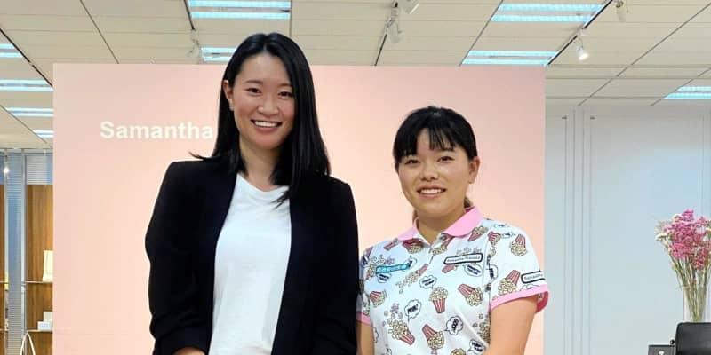 勝みなみ、畠田姉妹がオシャレに変身 サマンサタバサのファッション講座に参加