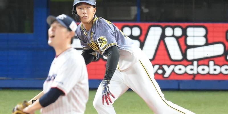 阪神、小幡が適時三塁打 コロナ禍で抹消の木浪の代役スタメン