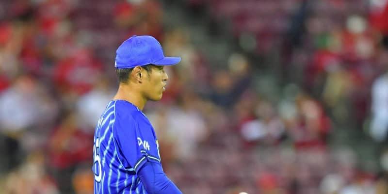 DeNA・井納、今季3勝の広島戦で六回途中5失点KO