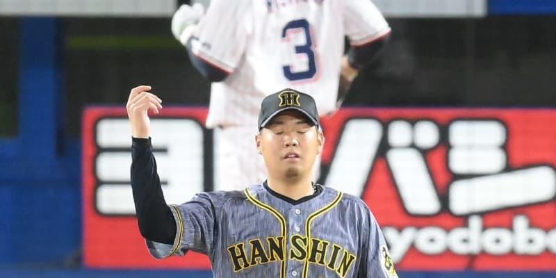 阪神・西勇、同点許す 四回2死走者なしから三連打で2点失う