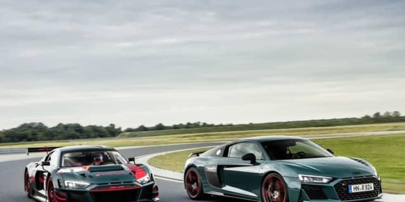 アウディ R8 に「グリーンヘル」、ニュル24時間での勝利を祝福…世界限定50台