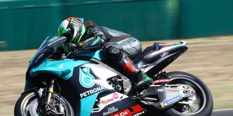 MotoGP第9戦:モルビデリ、転倒を喫しながらも初日総合トップ。中上は総合5番手につける