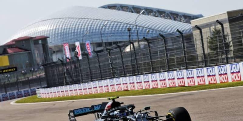 F1ロシアGP FP2:メルセデス勢が初日ワン・ツー、リカルドが続く。11番手ガスリーも好調か