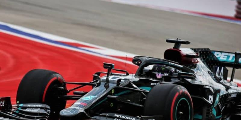 ハミルトンが最速。レッドブル・ホンダのフェルスタッペンは6番手【タイム結果】F1第10戦ロシアGPフリー走行3回目