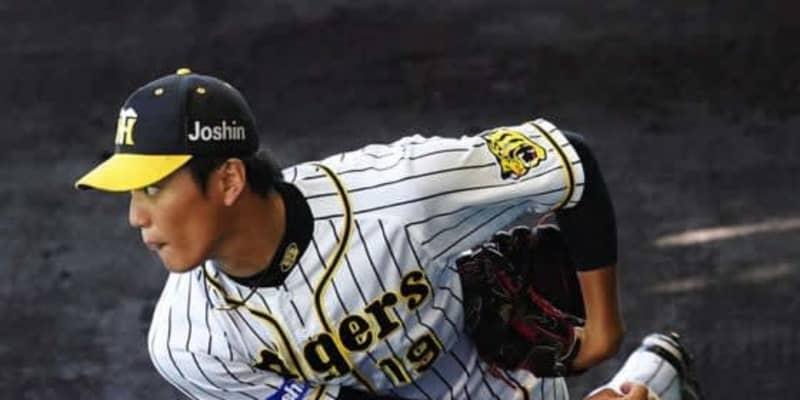 """阪神・藤浪、2729日ぶり救援登板で村上から被弾 チーム""""コロナ禍""""で昇格"""