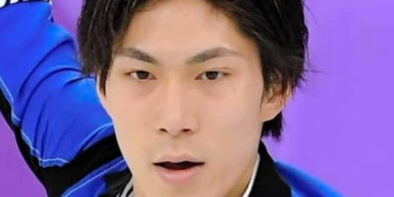 フィギュア田中刑事、今季初戦SPで珍事 曲間違えフリー流れる「僕のミス」3点減点