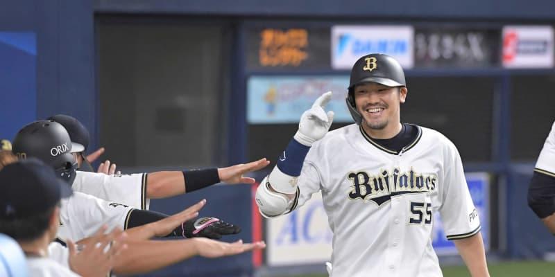 オリックスT-岡田、全打順本塁打!NPB史上12人目「3番で打ったのは初めてかなって…」