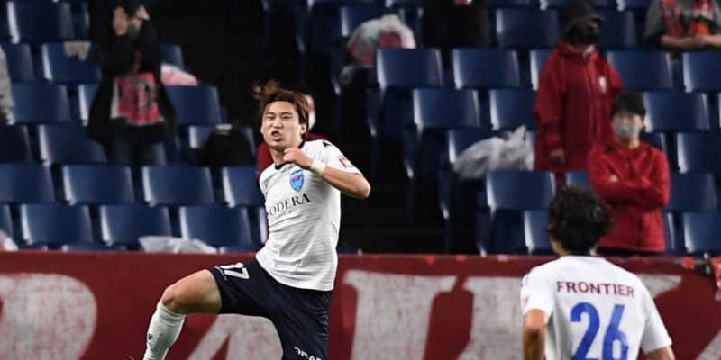 横浜FC連敗止めた!東京五輪世代の松尾2得点 恩師の浦和・大槻監督に成長見せた