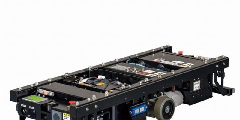豊田自動織機、最大搬送量1000kg級の無人搬送車を追加