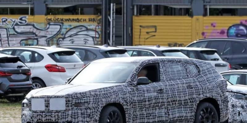 BMW史上最も豪華なSUV、『X8』市販型プロトタイプを初スクープ!