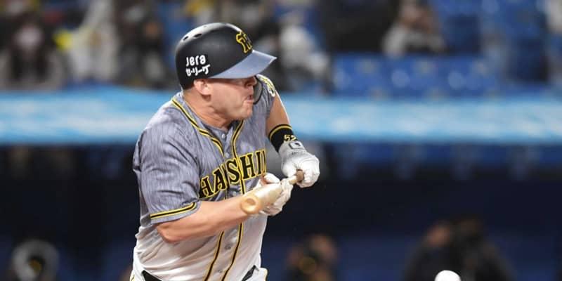 阪神4番の奇襲バント失敗 悩めるサンズ…自身の判断が裏目に