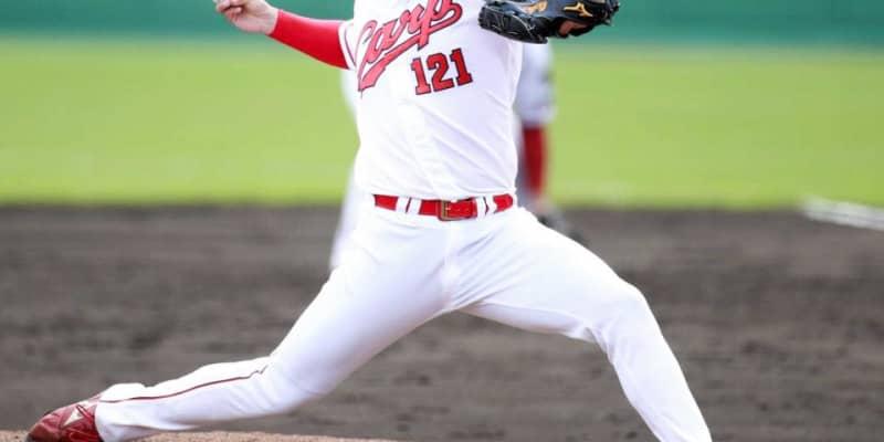 カープが藤井黎来投手と支配下契約  育成3年目右腕に指揮官「十分チャンスはある」